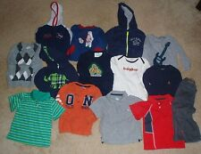 Baby Boy 18 18/24 mon Fall & Winter Clothes Lot of 13 pcs Sweatshirt sweater