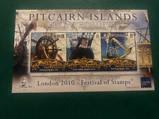 Pitcairn Islands 2010,Fine Used, Excellent Condition, London 2010 Exhibition M/S