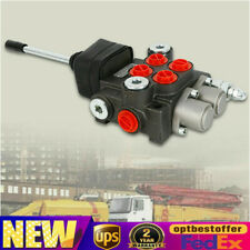 2 Spool Hydraulic Directional Control Valve 40lmin For Tractor Tractor Loader