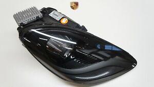 Porsche 718 Boxster Cayman Xenon Headlight LED Pdls GTS Black c-78