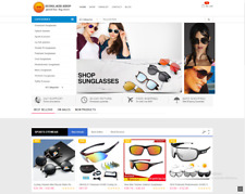 Money Making Sunglass Store Drop Shipping Amazon Affiliate Web Free Hosting