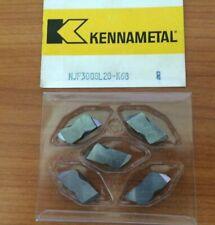 Kennametal Njf3008 L20 K68 Lathe Carbide Inserts 5 Pcs Grooving Cut Off New