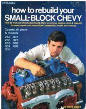CHEVROLET SMALL BLOCK V8 262 265 283 302 307 327 350 400 ENGINE REBUILD MANUAL