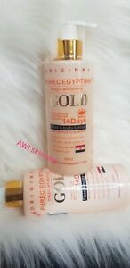 PURE EGYPTIAN  GOLD MAGIC WHITENING FACE & BODY MILK  |L-glutathione & EGG YOLK