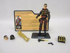 G.I Joe 2018 Con Convention Joecon Python Patrol Major Bludd Action Figure 100%