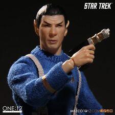MEZCO TOYZ Mr. SPOCK One:12 Star Trek Episode THE CAGE Varient Action Figure NEW