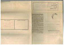 1944 Germany Jaworzno Auschwitz Concentration Sub Camp LS Cover KZ