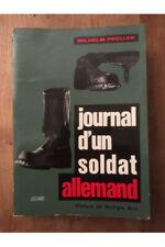Journal d'un soldat allemand Wilhelm Pruller
