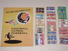 WORLD CUP 1958 RARE! SWEDEN 58 - 100% Complete!  Empty Album + set of stickers