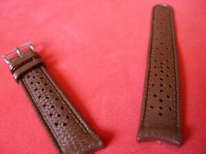 0 5/8in strap Tropic Original Curve Curved Stock New Our 60 Brown Swiss Made