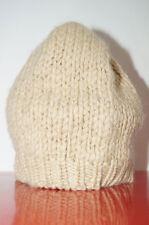 Stefanel Haube Mütze Strickhaube beige Kinder 8 Jahre Größe 56 cm (1512B-2)