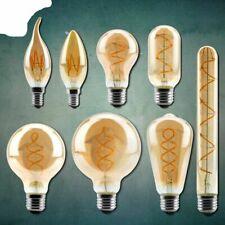 Vintage Lamps 2200K Spiral Light LED Filament Bulb Decorative Lighting Dimmable