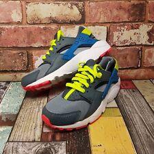 Nike Womens Air HUARACHE Trainers Size Uk 4.5 Grey Girls Sneakers Shoes Eu 37