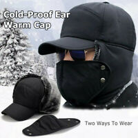Unisex Outdoor Cycling Cold-Proof Ear Warm Cap Thickened Ear Winter Warmer Hat