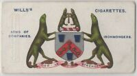 Ironmongers Company London England Craft Union Guild 100+ Y/O Trade Ad Card