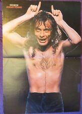 ANGUS YOUNG (AC/DC) :  POSTER (GERMANY MAGAZINE)