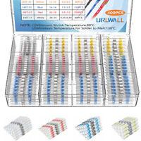 100/550PCS Mix Heat Shrink Butt Terminals Solder Seal Sleeve Wire Connector