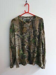Deerhunter Mens Reltree 2XL XXL T Shirt Overshirt