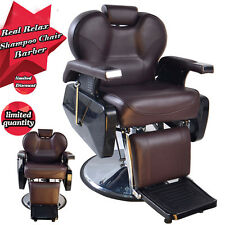 HOT BarberPub Hydraulic Recline Salon Beauty Spa Styling Barber Chair Equipment