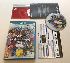 Super Smash Bros. Brothers Nintendo Wii U Complete PAL