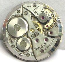 Bulova Watch Co. Swiss 15 Jewels Model 10BC Wind Up Movement 4U2FIX