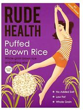Rude Health Puffed Brown Rice 225g (Pack of 2)