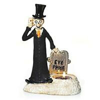 Yankee Candle Boney Bunch EYE PHONE Tealight Candle Holder 2014 Halloween, NEW