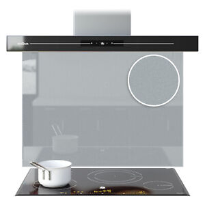 Splashback Kitchen Toughened Glass Panels Cooker Sparkly Silver Any Size Colour