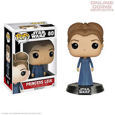 Star Wars - Princess Leia Episode Vii - Pop Vinyl Figure - Funko - Bnib! #80