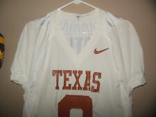 University Of Texas Longhorns #9 Authentic Game Worn Jersey, Size 46