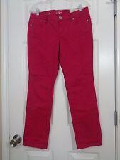 Ann Taylor Loft Petite Women's Jeans Pink Modern Straight Size 10P NWT