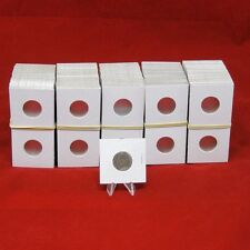 500 Cardboard 2x2 Mylar Coin Holders for Nickels