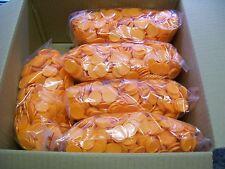 5000 Einkaufswagenchips  Wertmarken Pfandmarken Veranstaltung Ekw 02 Orange