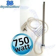 3S RESISTENZA ELETTRICA POTENZA 750 Watt per SCALDASALVIETTE TERMOARREDO 220v