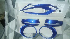 kit insert bleu pour nissan juke f15 ke600bv011eb