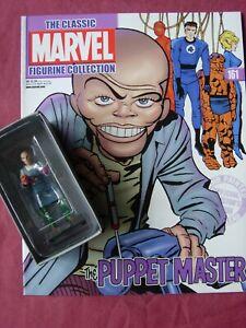 Puppet Master #161 Classic Marvel Figurine Collection Figure & Mag Eaglemoss VFN