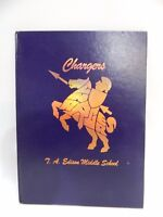 Edison Middle School IPS #47 1997 Indianapolis Chargers Yearbook Annual Alumni