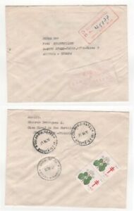 1976 COLOMBIA Meter Mail Cover TULUA to STADL-PAURA AUSTRIA Charity Cinderella
