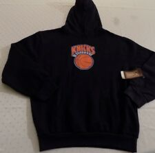 New York Knicks Hoodie Youth Large Black Hardwood Classics NBA
