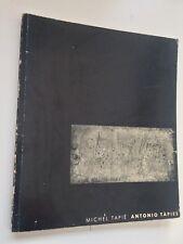 Antonio Tapies par Michel Tapié Exposition à la Galerie Stadler 1955 Abstraction