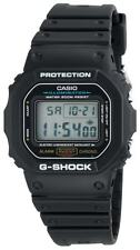 CASIO G-Shock Classic Black Digital Sports Watch DW-5600E-1V - 200M Water Resist