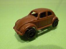 VINTAGE PLASTIC -   VW VOLKSWAGEN BEETLE BUG -  1:87 ? 4.5CM  - GOOD CONDITION