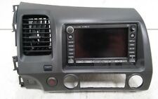 2007 Honda Civic GPS Navigation Radio CD Player w/ XM & Dash Trim Bezel OEM