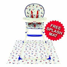 Red Kite Feed Me Compact Highchair - Ships Ahoy