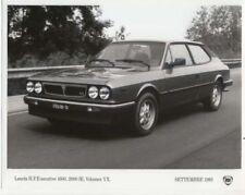 Lancia Automobile Press Kits and Press Photos