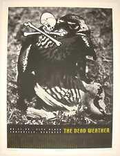 The Dead Weather - Louisville Silkscreen Concert Poster by Rob Jones