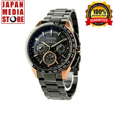 Citizen Attesa CC9016-51E F900 Eco-Drive Satellite Wave GPS Titanium 100% JAPAN