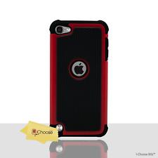 Cas Antichoc Étui rigide Bumper dure Manche Coque pour Apple iPod Touch 5 Rouge