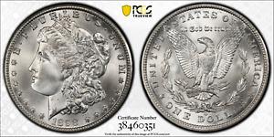 1898-O Morgan Silver Dollar PCGS MS67+ CAC Top Pop