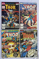 Lot of 4 The Mighty Thor King Size Annuals 7 10 14 15 Marvel Comics from 1978-90